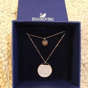 Swarovski necklace with pendants